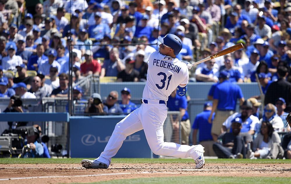 Los Dodgers dieron 8 cuadrangulares en el partido