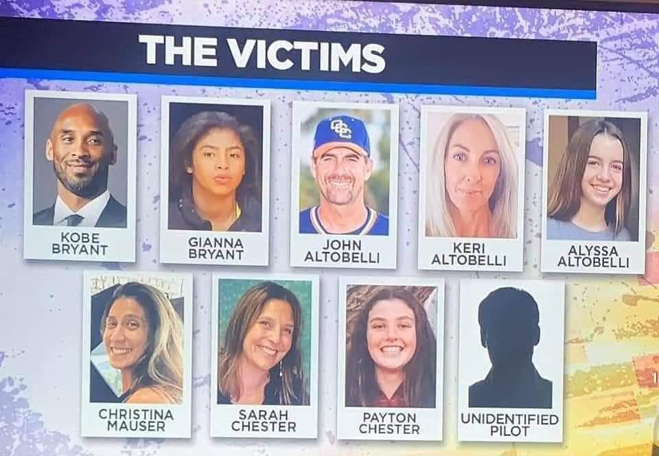 Todas las victimas del accidente