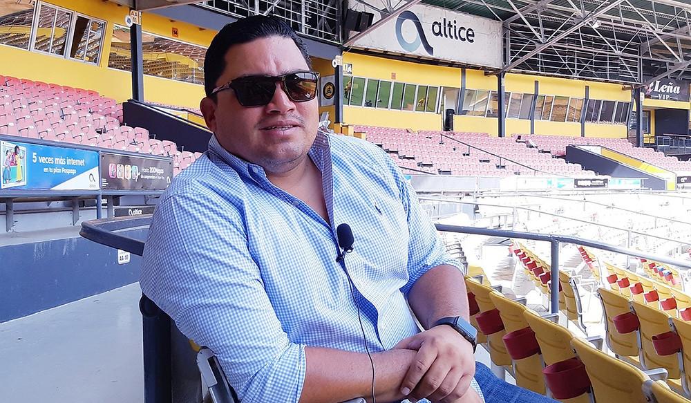 Ángel Ovalles el joven gerente general de las Águilas