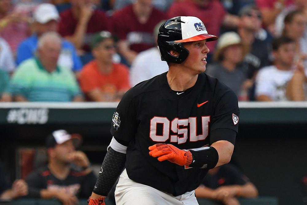 Los Orioles de Baltimore reclutaron el lunes al cátcher Adley Rutschman, de Oregon State