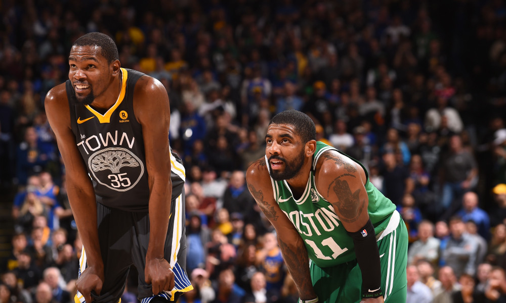 Kevin Durant y Kyrie Irving