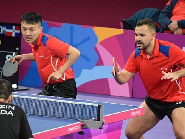 Jiaji Wu y Emil Santos se quedaron con la medalla de bronce al perder 4 sets por 3 en el partido de semifinales