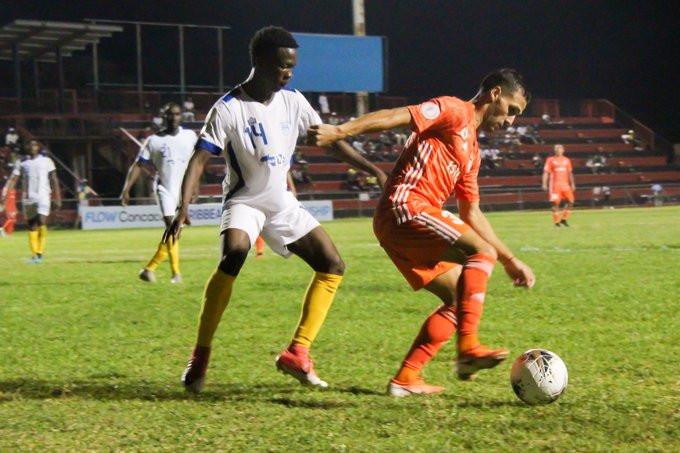 El Cibao FC  de la República Dominicana y el Waterhouse FC, de Jamaica  igualaron  0-0
