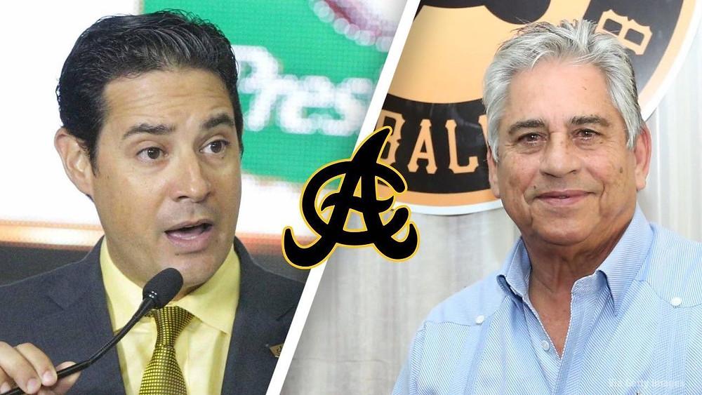Quilvio Hernández y Winston Enriquillo –Chilote- Llenas Dávila
