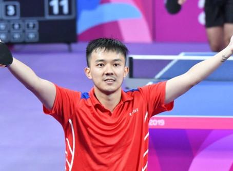 La sensación Jiaji Wu avanzó en tenis de mesa y aseguró la medalla de bronce. Mira como lo hizo.