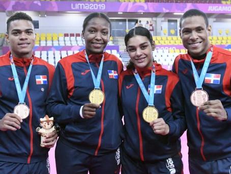 Tanya y Pamela suman sendos oro; karate cierra con cuatro preseas