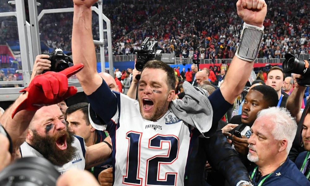 Tom Brady Celebra otro titulo.