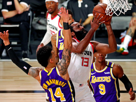 Houston Rockets le ganó a su forma a Los Angeles Lakers: 112-97 con 36 puntos de James Harden