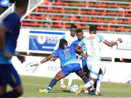 En intenso choque Atlántico FC y Vega Real terminan empatados a un gol por bando