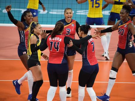 Reinas del Caribe ganan pero sufren ante una motivada Colombia.