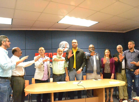 Juramentan Comité Organizador XXXIX Copa Independencia de Boxeo Internacional Santiago 2020.