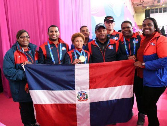 El reconocimiento a los deportistas que pusieron en alto la bandera nacional, con 11 medallas de oro, 12 de plata y 17 de bronce
