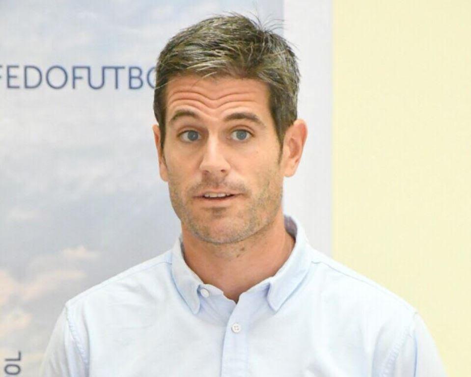 El Técnico de la Selección Dominicana de Fútbol David Gonzalez
