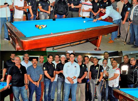 Santiago Country Club inicia torneo de billar