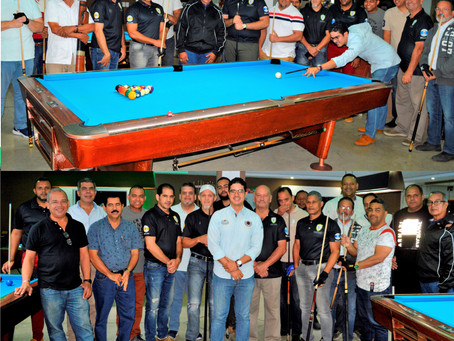 Santiago Country Club inicia torneo de billar