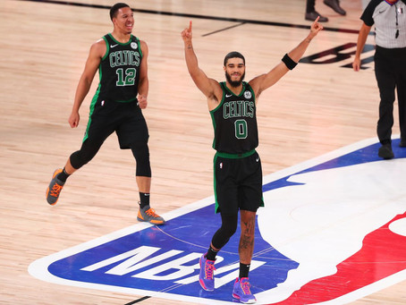 Marcus Smart, Jayson Tatum corazón celta dieron el golpe. Boston Celtics eliminó a Toronto Raptors.
