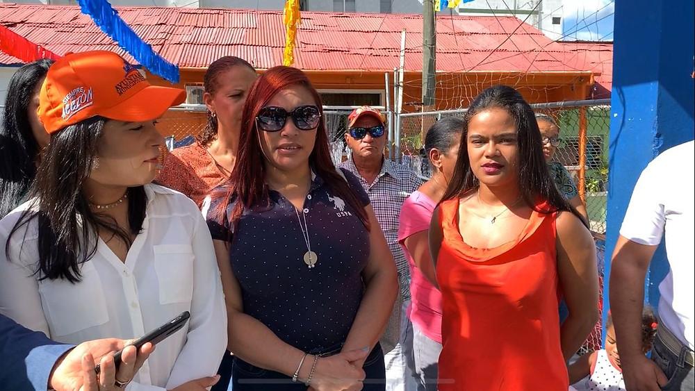 La ingeniera Leonela Massiel Espinal,anuncia inicio trabajos en Los Garajes