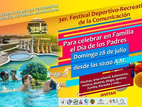 Club Recreativo y gremios de la Comunicación anuncian 3er. Festival dedicado a los Padres