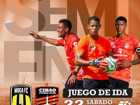 Semifinal abre con  Clásico el sábado entre Cibao FC y Moca FC