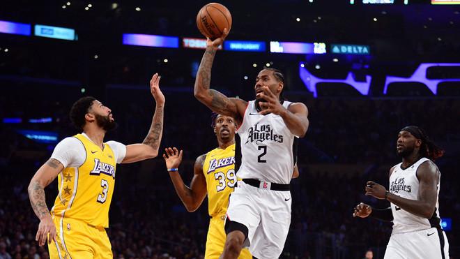 Leonard se encargó de llevarse el duelo individual y también ser decisivo en la victoria de los Clippers