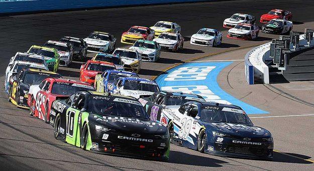 La serie NASCAR de automovilismo profesional de Estados Unidos incluyó en su reapertura al circuito Homestead-Miami Speedway, de Florida