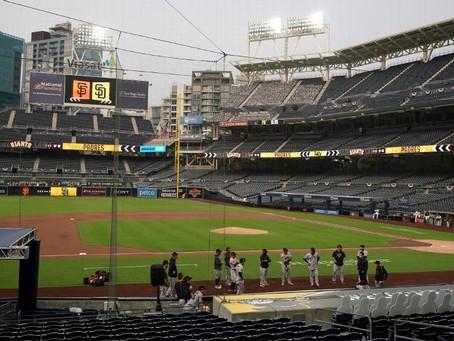 Giants vs Padres, pospuesto tras prueba positiva en organización de San Francisco