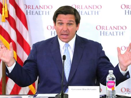 Gobernador de Florida Ron DeSantis dice que estado está abierto a equipos deportivos profesionales.