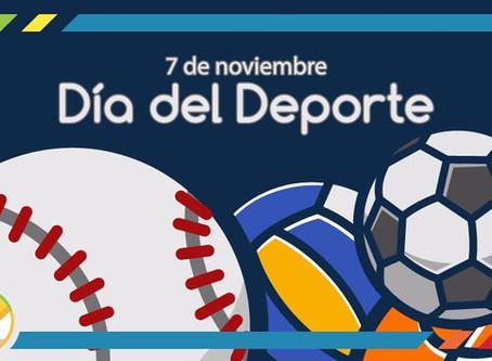 7 de noviembre: Día del deporte. Importancia del Deporte en nuestros hijos.