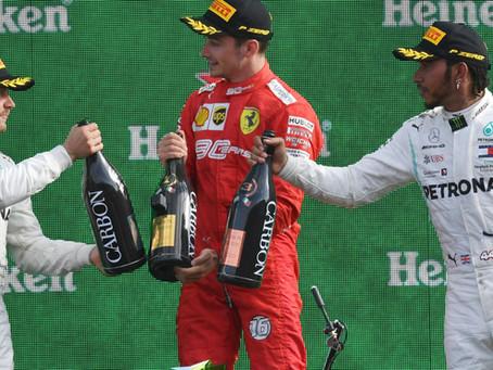 Leclerc le devolvió la gloria a Ferrari en Monza