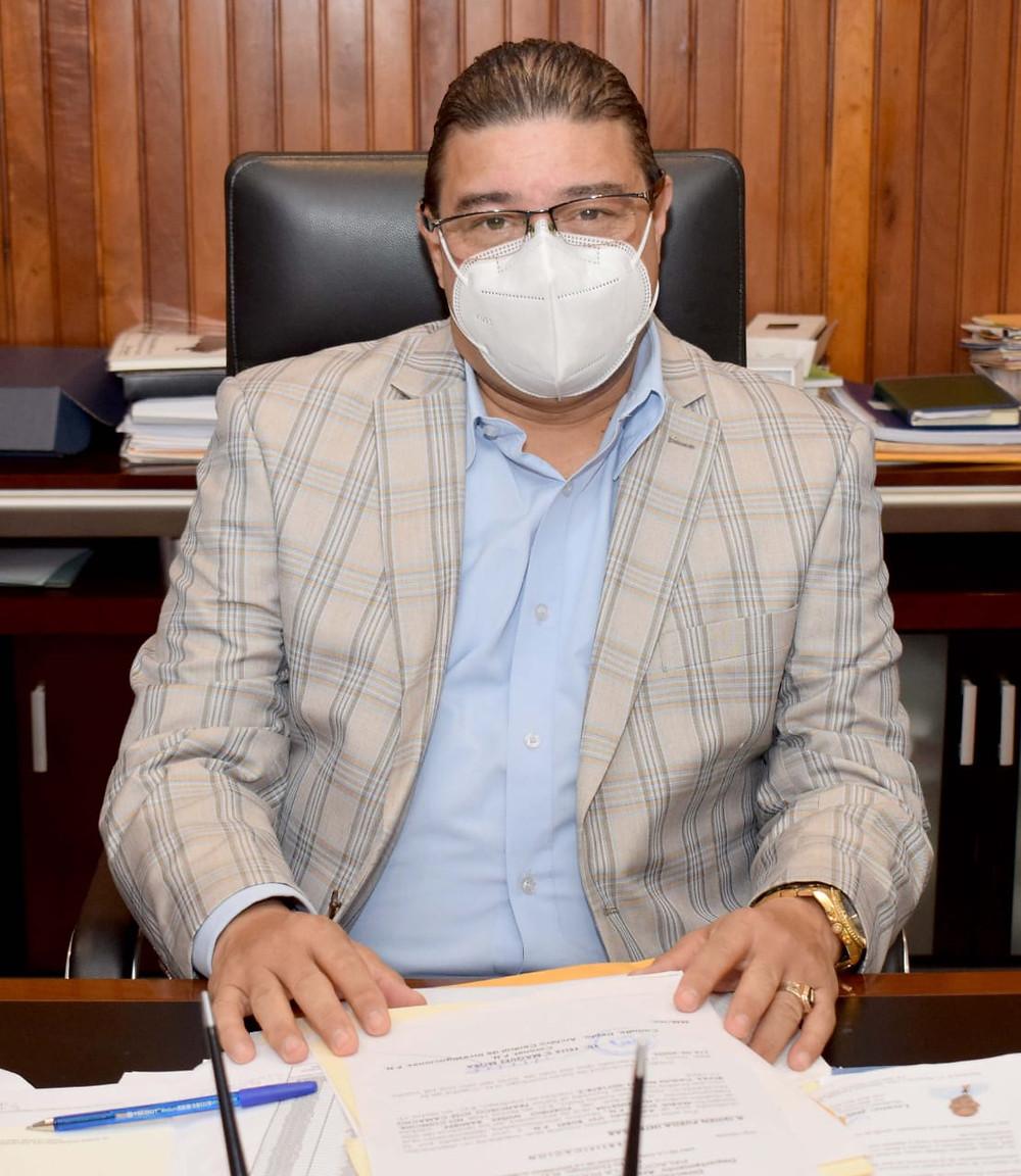 El ministro de Deportes, Francisco Camacho