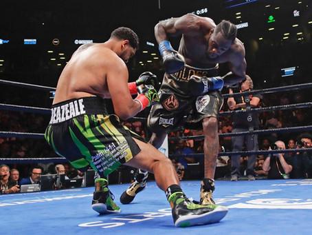 Deontay Wilder destroza a Breazeale en un asalto con un KO demoledor. Mira el  knockout.