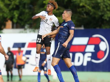 Cibao FC se impuso al Atlántico con gol de Dorny Romero