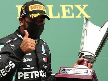 Lewis Hamilton gana el Gran Premio de Bélgica de Fórmula 1