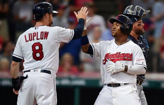 El dominicano José Ramírez pegó un cuadrangular que significó la ventaja en el sexto inning