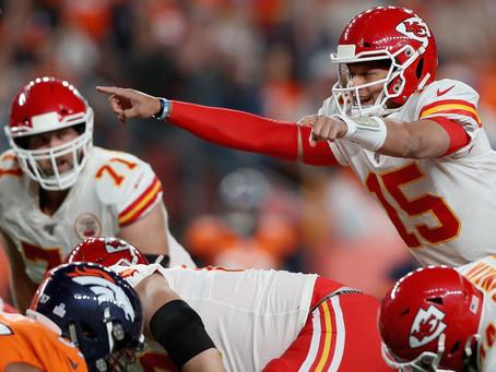Chiefs vencen a Broncos, pero pierden a Patrick Mahomes