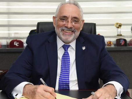 Presidente de Lidom evalúa campeonato; cita retos y desafíos de la entidad