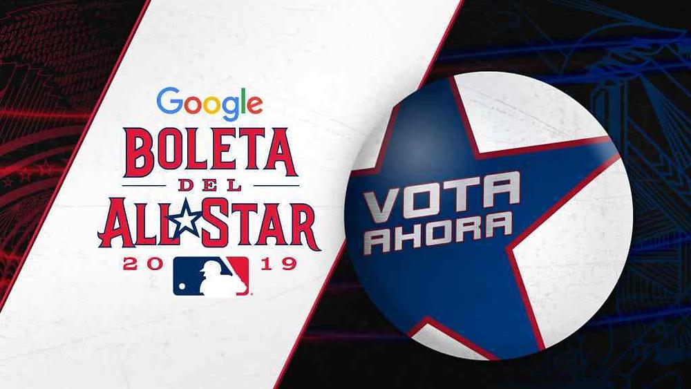 boleta voto juego de estrellas mlb grandes ligas all star