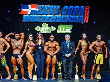 Taveras gana gran absoluto de la XXVI Copa Independencia de Fisiculturismo y Fitness