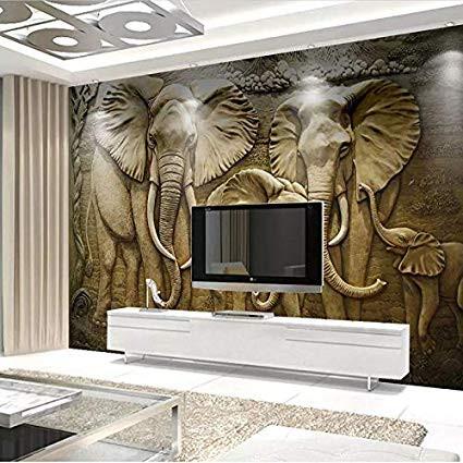Elefantes en pantallas