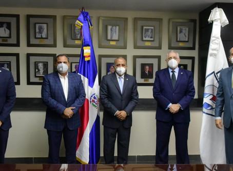 Presidente de Lidom se reúne con Ministro de Salud Pública