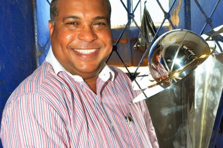 Tito Pereya, presidente de la Federación Dominicana de Béisbol.