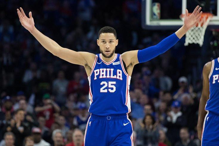 Benn Simmons fue héroe por Filadelfia