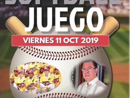 Duelo de softbol en apertura Semana Deportiva Club Amaprosan
