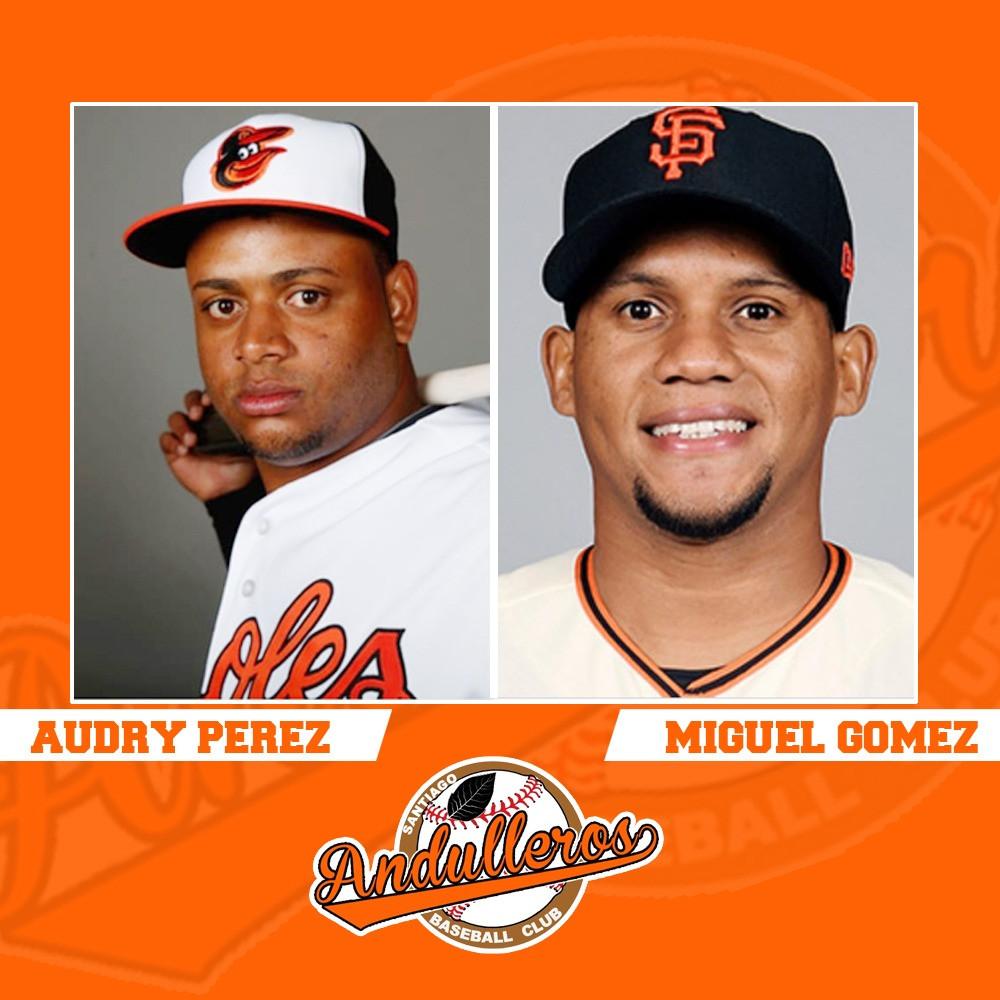 Audry Pérez  y Miguel Gomez