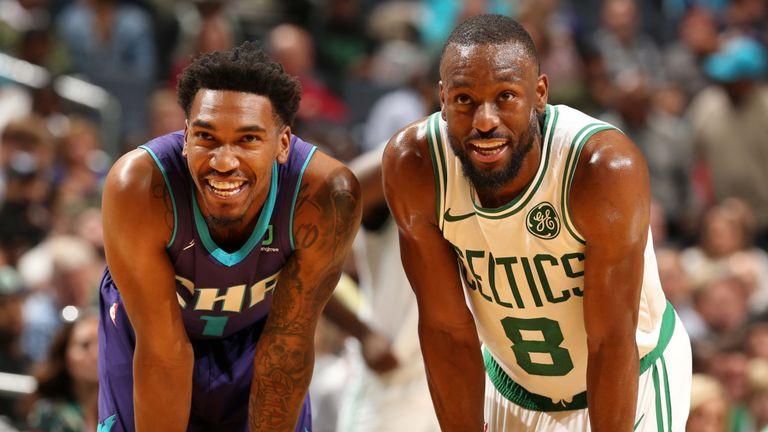 Los Hornets recibieron por primera vez como forastero a Kemba Walker