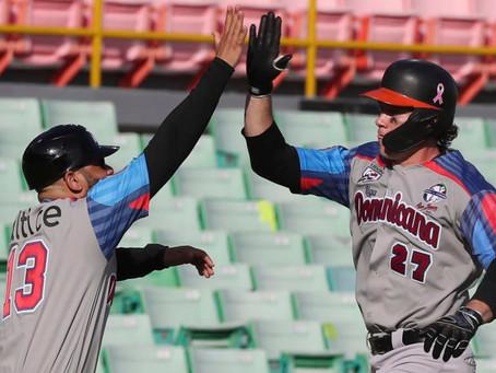 Espino y O'Brien guían victoria de Toros de Dominicana ante Colombia
