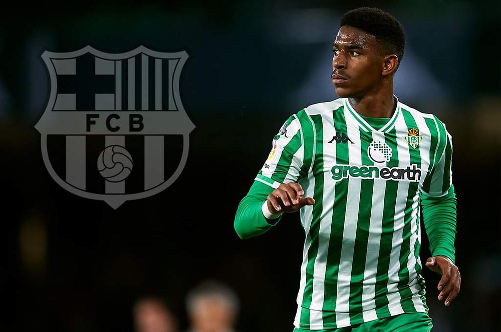Junior Firpo, de 22 años, es nuevo jugador del Fútbol Club Barcelona
