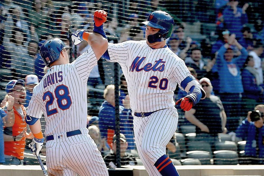 El inicialista de los Mets, Pete Alonso, hizo historia en el cierre de la serie contra los Reales al sacudir su cuadrangular número 40 de la campaña.