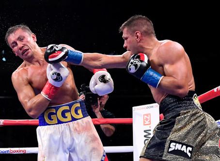 Cerrada victoria para Gennadiy Golovkin ante Sergiy Derevyanchenko