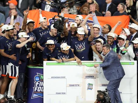 ¡Por fin! Virginia es campeón de la NCAA por primera vez en su historia. B. Francis 17 puntos 4 Reb.